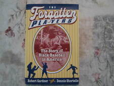 The Forgotten Players; Shortelle; Negro League baseball; signed 1st edition 1993