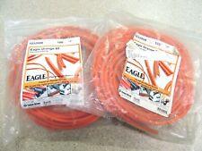 "New listing Eagle Orange 85 Polyurethane Belting 1/4"" approx. 120ft 1032008"