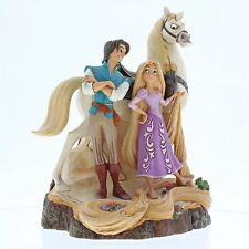 Disney Traditions Live Your Dream (Tangled Carved by Heart Figurine)
