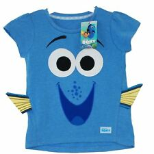 Disney Pixar Finding Dory Nemo Blue T Shirt With Tag Washable Size 4-5 Years