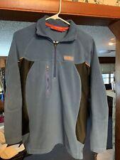 CRAGHOPPERS Bear Grylls Men's Blue/Black Micro Fleece Pullover Size S