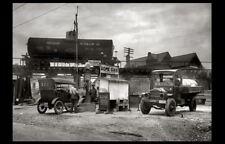 1921 Vintage Dome Oil Gas Station PHOTO Pumps Service Station Gasoline Maryland