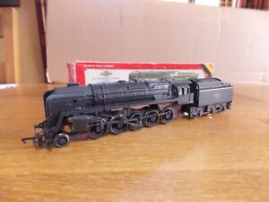 HORNBY BR 9F CLASS 2-10-0 LOCO No 92203 in weathered BR Black Livery 00 Gauge
