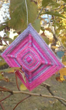 Eye Of God - Ojo de Dios - God's Eye - Xmas Tree, Plant, Wall Decor - Set of 12