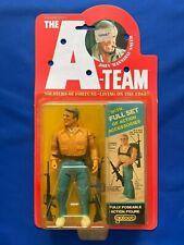 "1983 Galoob A-Team John ""Hannibal"" Smith Action Figure New Moc High-Grade"