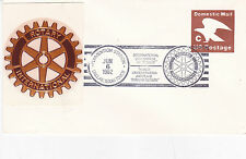 United States 1982 Rotary International Convention FDC Unadressed VGC D