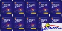 (10) 2019 Panini FIFA Women's World Cup Soccer France Sealed Packs-50 Stickers