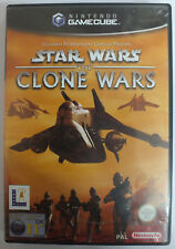 Star Wars The Clone Wars (Nintendo Gamecube UK/Europe PAL version) With Manual