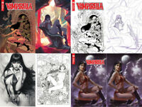 Vampirella #6 FOC and Incentive Variants Artgerm Parrillo Castro Hetrick March