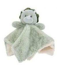Kellytoy Green Dinosaur Security Blanket K Luxe Baby Soft Plush Lovey Rattle Toy