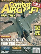 COMBAT AIRCRAFT V10 N6 F7U USN_T-37 USAF_F-35 JSF_HH-60G 23RD WING HC-130 A-10