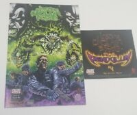 Insane Clown Posse  - The Pendulum 4 Comic Book & CD hatchet man anybody killa