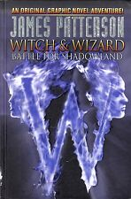 James Patterson WITCH & WIZARD BATTLE FOR SHADOWLAND graphic novel