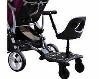 Englacha 2-in-1 Cozy X Rider Stroller Board Seat (New Junior X Rider model) New!