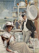 "Hamburg Amerika Line Hamburg to New York Passenger List ""Cincinnati"" 1909"