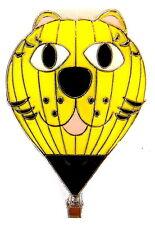 "BALLON ""SPECIAL SHAPE"" Pin / Pins - YELLOW CAT [3360]"