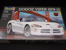 A Revell un made plastic kit of a Dodge Viper, parts in factory seal bags. boxed