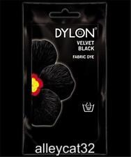 Dylon Permanent Fabric Dye VELVET BLACK 1.75oz