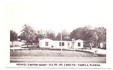 A View of Heinkel's Motor Court, Tampa FL