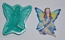 Stampo IN SILICONE GOMMA Artigianato Sugarcraft Decorazione per Torta Fata Farfalla (7015)