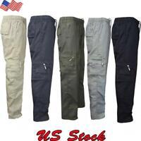 Men Outdoor Work Tactical Pants Army Military Combat Cargo Camo Combat Trousers