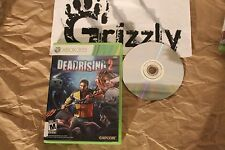 USED Dead Rising 2 XBOX 360 (NTSC) TESTED and WORKING