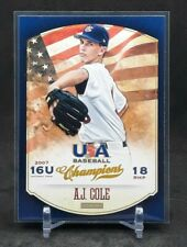 2013 Panini USA Baseball Champions A.J. Cole #54