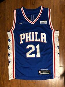Men's Philadelphia 76ers #21 Joel Embiid Jersey