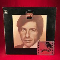 Songs Of Leonard Cohen 1967 UK Vinyl LP EXCELLENT CONDITION original
