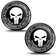 3D Silikon Aufkleber Punisher Schädel Totenkopf Skull Helm Auto Motorrad Emblem