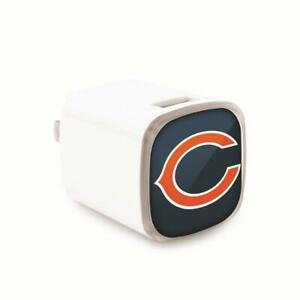 Chicago Bears Wall Charger [NEW] NFL USB Phone Smart iPhone iPad Galaxy