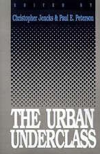 NEW The Urban Underclass
