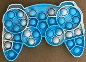 Game Pad Controller Push it Bubble Pop Fidget Sensory Toy ADHD Stress Reliever