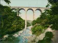 Ayr. Cumnock. Templand Bridge PZ vintage photochromie, photochrom photochromie