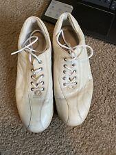 ecco white women's tennis shoes~Size 7