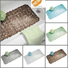 Bath Mat Tub Shower Non Slip Safety Hydro Strong Suction Quick Drain Pick Color