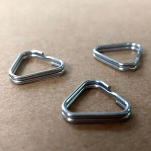 4 PCS Camera Strap Triangle Lug Ring RINGS for Leica Nikon Canon Sony SLR DSLR