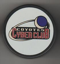 Phoenix Coyotes Crescent MOON Charter Member #0574 NHL Hockey Puck Purple Sky