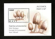 VINTAGE CLASSICS - Mali 1995 - Mushroom, Alcohol Inky Cap - Souvenir Sheet - MNH