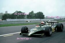 Andretti Martini Lotus 79 canadiense Grand Prix 1979 fotografía