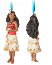 Disney Store 2017 Sketchbook Christmas Ornament Moana doll figure Holiday