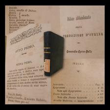 Ghislanzoni Antonio : Livre Segreto + Livre Interdit - Milano Brigola 1882 1890