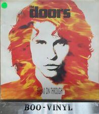 "RARE 1991 vinyl 12"" EP THE DOORS BREAK ON THROUGH  EKR121T Looks unplayed  NM"