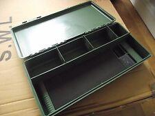 Carp tackle box fishing tackle box terminal tackle with rig board