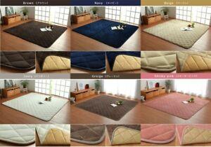 Kotatsu Mat Fran Quilt Rug 190x290cm Rectangular IKEHIKO 1 of 6colors