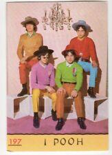figurina CANTANTI PANINI 1968 REC numero 197 I POOH