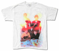 RED HOT CHILI PEPPERS I'M WITH YOU TOUR 2012 2013 TAMPA-INDIO GREY T-SHIRT NEW T-shirty