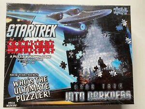 Star Trek into Darkness: Connect with Pieces Puzzle Building BOARD GAME