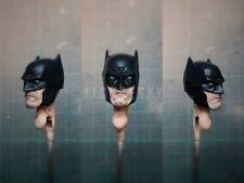 """Painted Service 1/12 Scale Knight Batman Head Sculpt fit 6"""" Figure Mez One:12"""