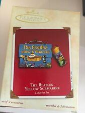 "2002 ""THE BEATLES YELLOW SUBMARINE  "" Hallmark Ornament (NIB)  LUNCH BOX SET"